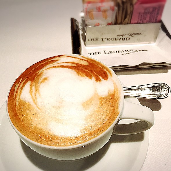 Cappuccino - The Leopard at des Artistes, New York, NY