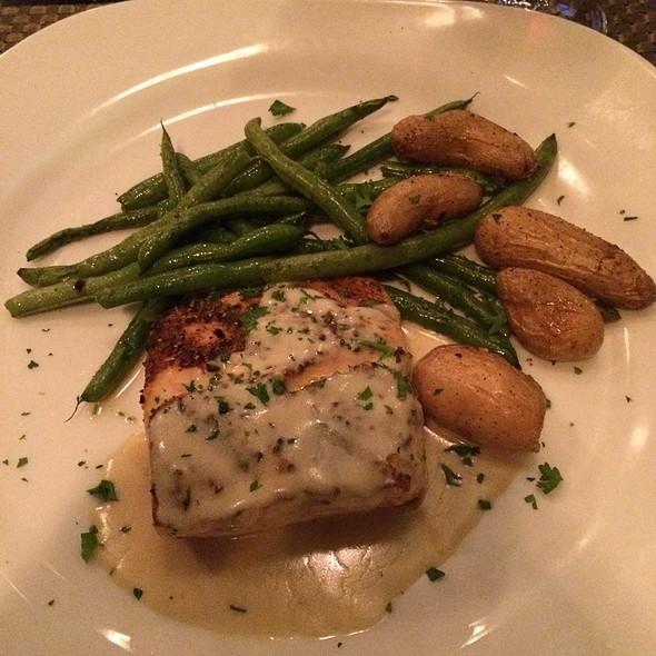Grilled Salmon - Café Napoli, Clayton, MO
