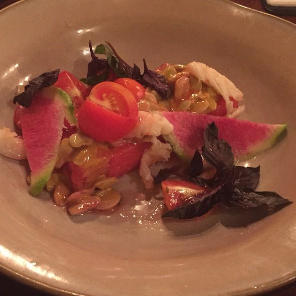 Watermellon Shrimp Salad - Epiphany Farm-to-Fork, Tuscaloosa, AL
