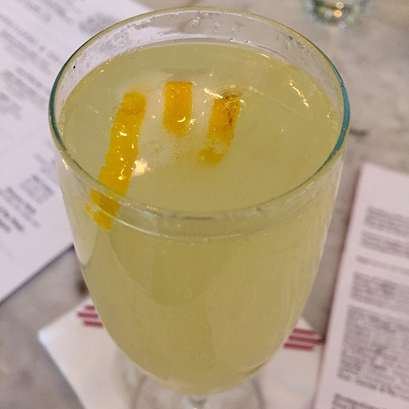 French 75 - Presidio Social Club, San Francisco, CA