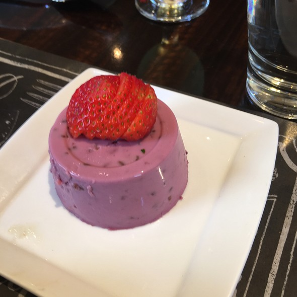 Blueberry Panna Cotta - Square 1682, Philadelphia, PA