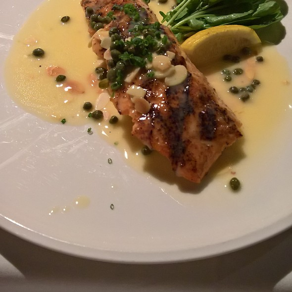 Salmon - AQUA by El Gaucho, Seattle, WA