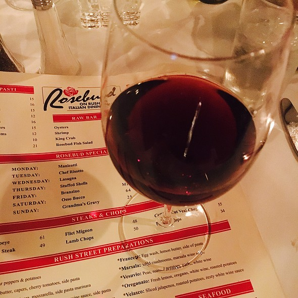 "Parducci ""Small Lot"" Pinot Noir - Rosebud on Rush, Chicago, IL"