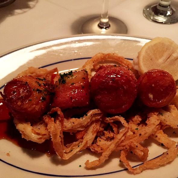 Scallops wrapped with Bacon - The Wharf, Alexandria, VA