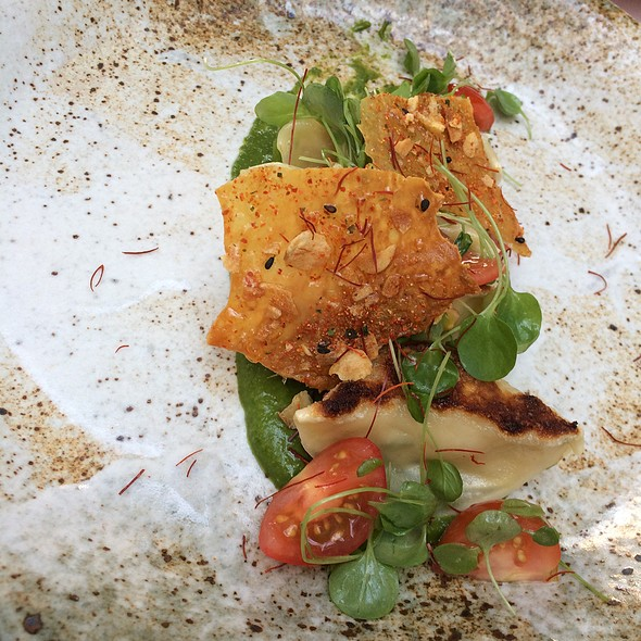 Chicken Gyoza - Yusho - Monte Carlo, Las Vegas, NV