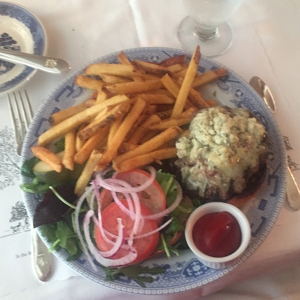 Blue Cheese Burger - The Red Lion Inn, Stockbridge, MA
