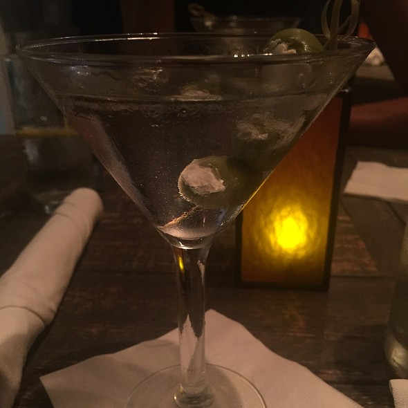 Tito's Vodka Martini - Nine One Five, Key West, FL