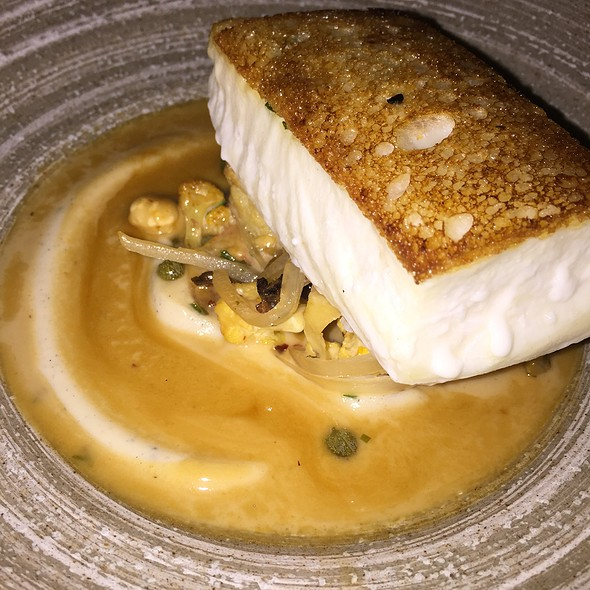 Halibut En Crute - Marc Forgione, New York, NY