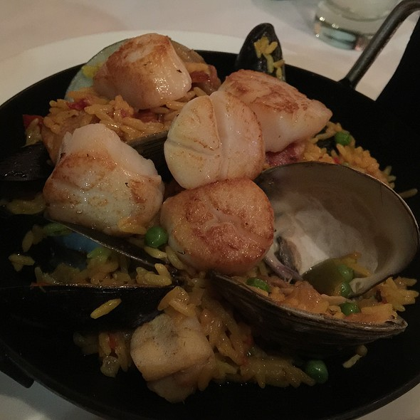 Signature Paella With Scallops - Palomino - Los Angeles, Los Angeles, CA