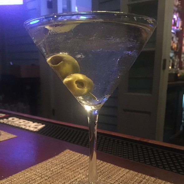 Tito's Vodka Martini - Bagatelle, Key West, FL