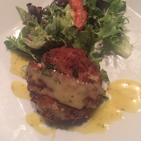 crab cake - Bagatelle, Key West, FL