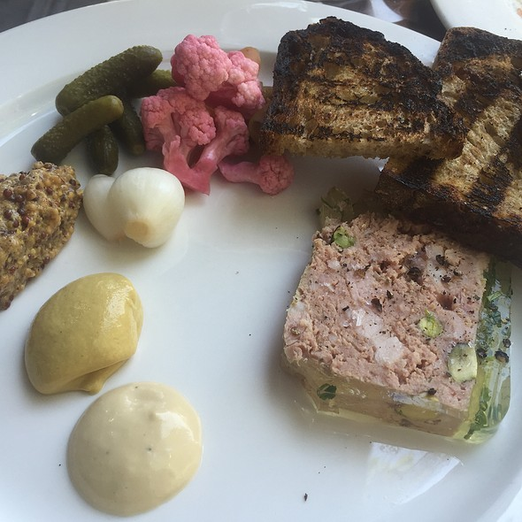Country Pâté With House Mustard - North End Grill, New York, NY