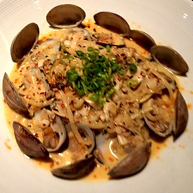 Linguine With Manila Clams - Restaurant R'evolution, New Orleans, LA