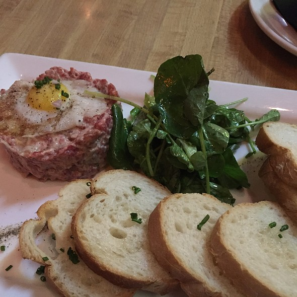 Steak Tartare With Quail Egg - The Happy Gnome, Saint Paul, MN