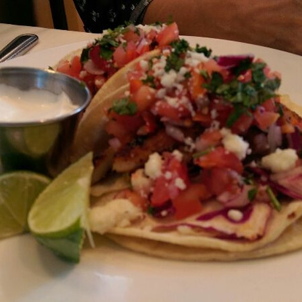 Blackened Cod Tacos - Salty's on the Columbia, Portland, OR