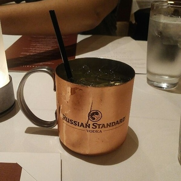 Moscow Mule - Sullivan's Steakhouse - Baltimore, Baltimore, MD