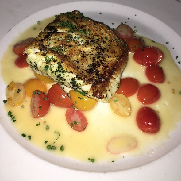 Roasted Chilean Sea Bass - Lavo, Las Vegas, NV