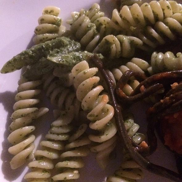 Pasta With Pesto And Green Beans - Becco, New York, NY