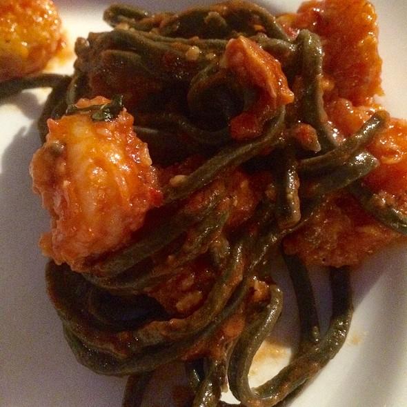 Black Pasta With Shrimp - Becco, New York, NY