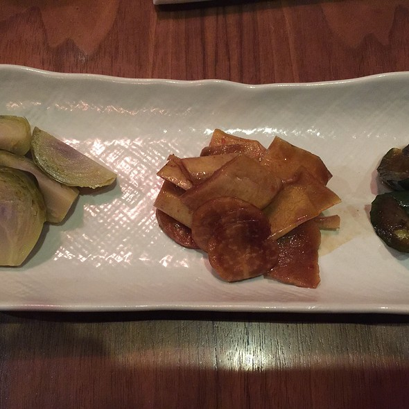 Homemade Pickled Vegetables - Wasan East Village, New York, NY