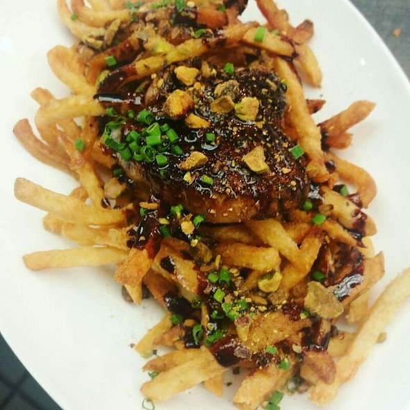 Frites with Foie Gras - Pistache French Bistro, West Palm Beach, FL
