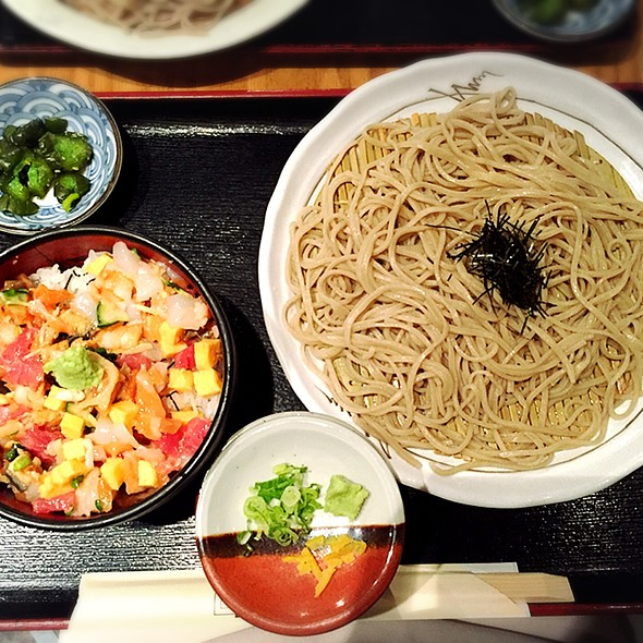 Bara Chirashi Don with Soba - Sakagura, New York, NY