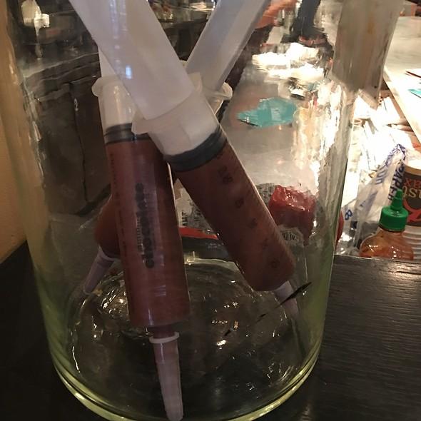 Chocolate Syringe - Max Brenner - Philadelphia, Philadelphia, PA