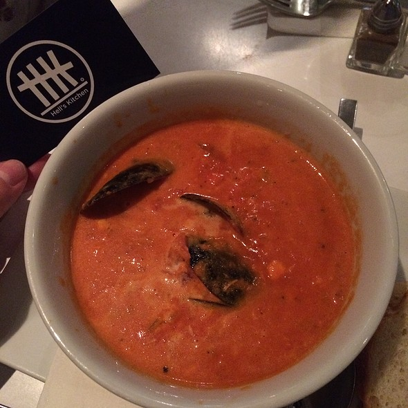 Tomato Seafood Soup - HK Hell's Kitchen, New York, NY