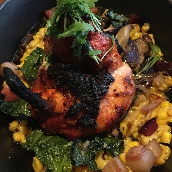 Three Chile Chicken - Cusp Dining & Drinks, San Diego, CA