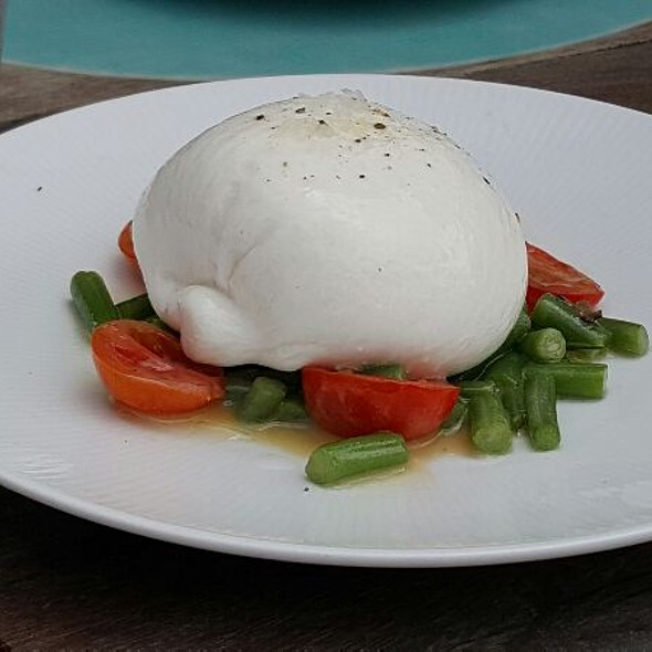 Burrata - Lido Bayside Grill at The Standard Spa, Miami Beach, Miami, FL