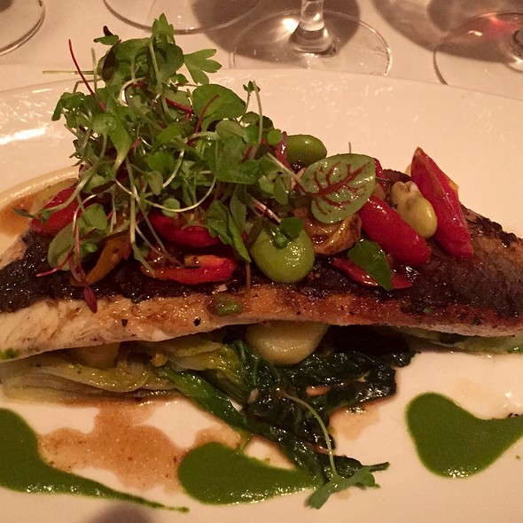 Pan Roasted Branzino - Gotham Bar and Grill, New York, NY