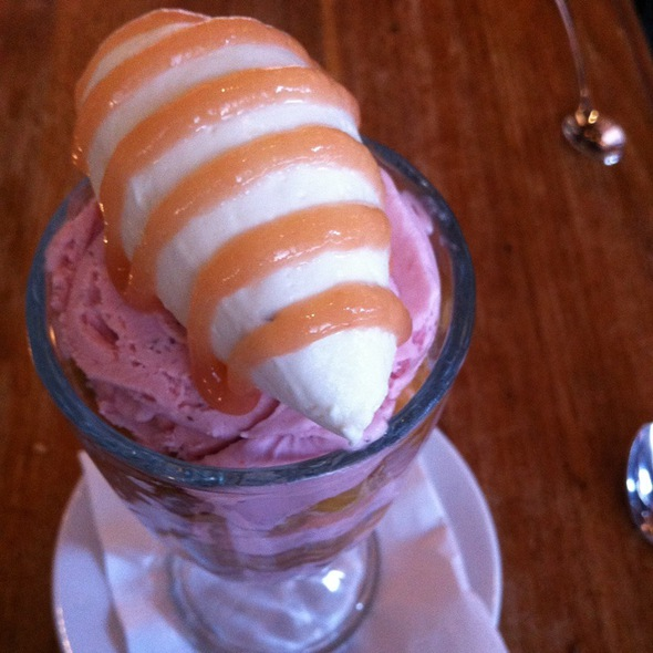 Rhubarb Sundae - Trestle on Tenth, New York, NY