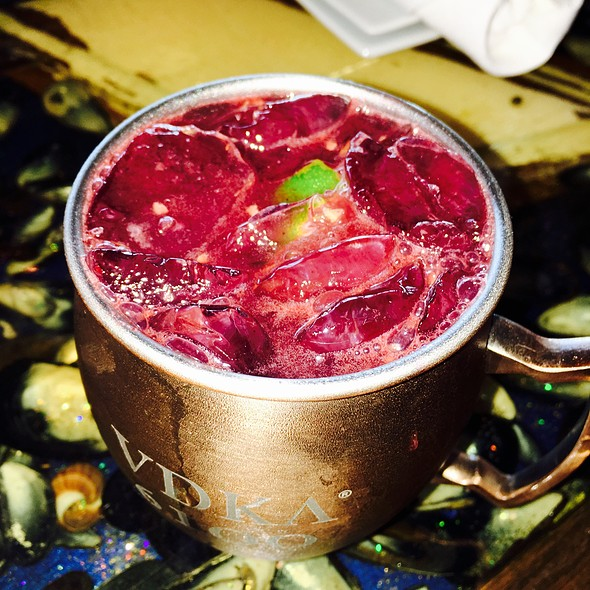 Blueberry Mule - Langosta Lounge, Asbury Park, NJ