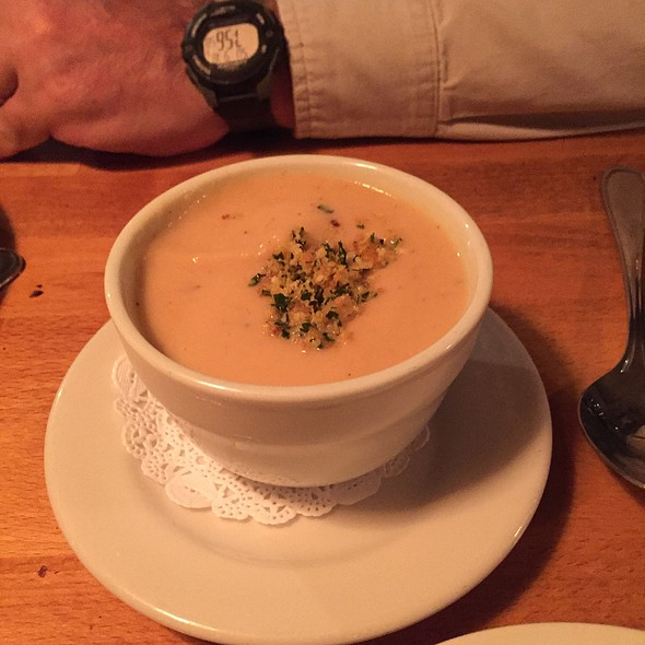 Pureed Cauliflower Soup - Parkside Grille, Portola Valley, CA