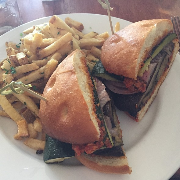 Roasted Vegetable Sandwich - Rustic Tavern, Lafayette, CA