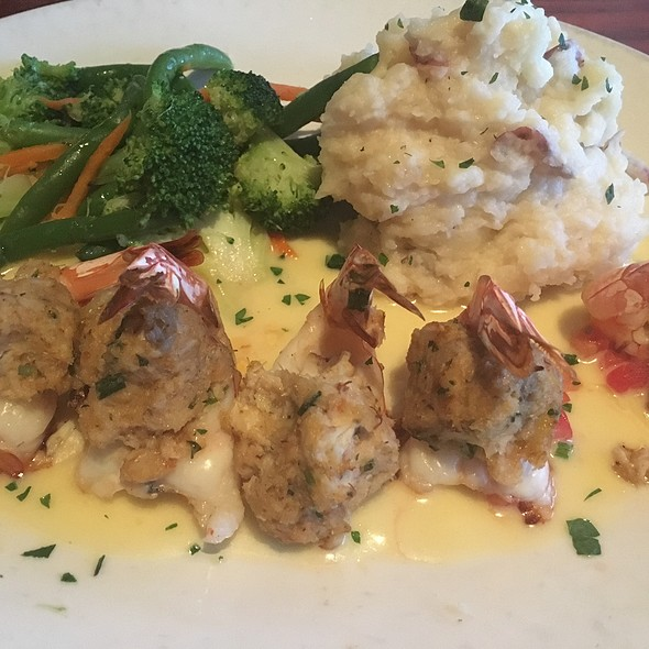 Stuffed Shrimp - Mitchell's Fish Market - Lansing, Lansing, MI