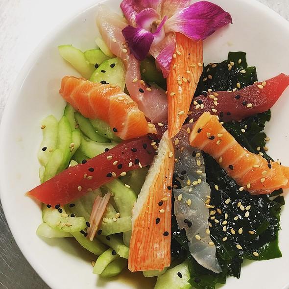 Sunomono Salad - Uni Sushi, The Woodlands, TX