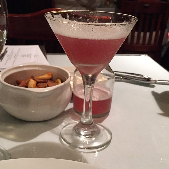 French Martini - Robin's Nest Restaurant, Mount Holly, NJ