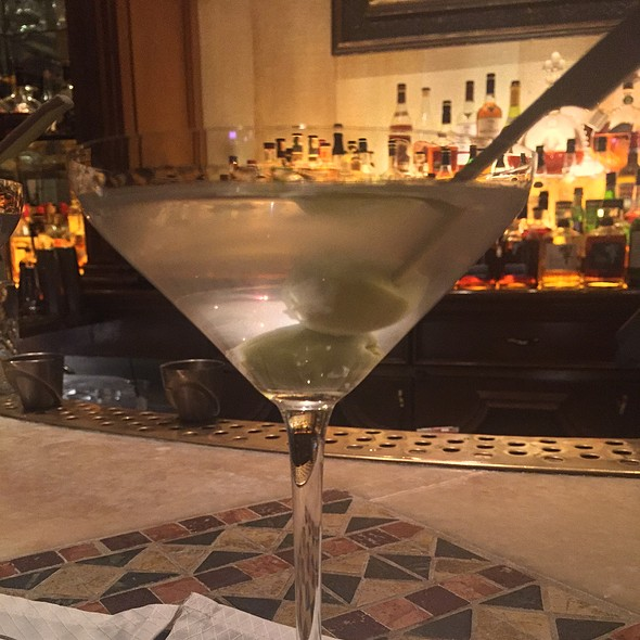 Tito's Vodka Martini - Picasso - Bellagio, Las Vegas, NV
