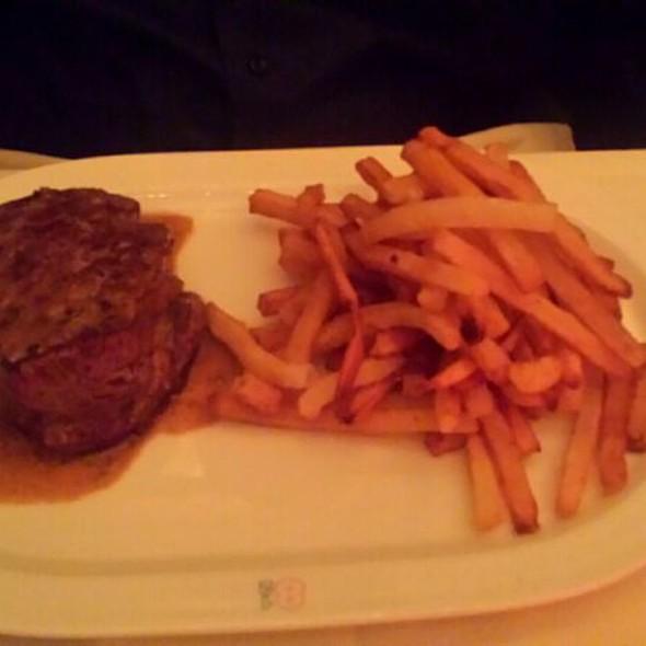 Filet Mignon Au Poivre - Brasserie 8 1/2, New York, NY