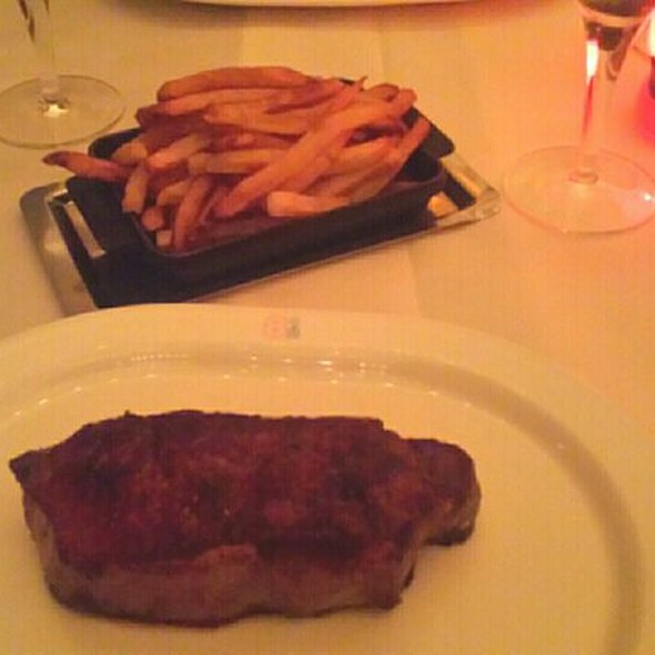 Steak Frites - Brasserie 8 1/2, New York, NY