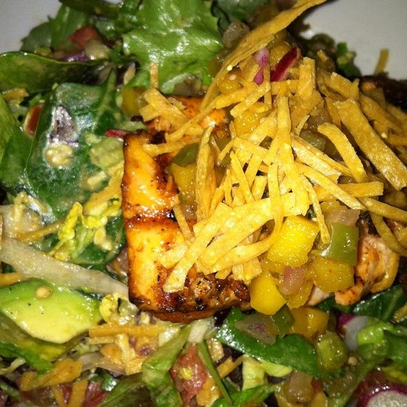 Grilled Salmon Salad - La Sandia, McLean, VA