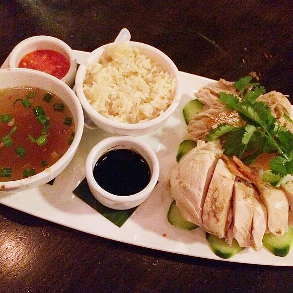Hainan Chicken - Straits Restaurant - Santana Row, San Jose, CA