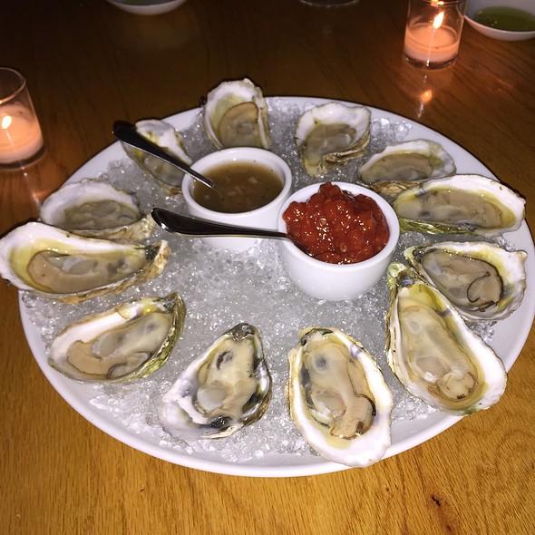 Oysters on the Half Shell - 1770 House, East Hampton, NY