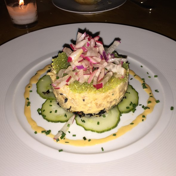 Spicy Montauk Fluke Tartare - 1770 House, East Hampton, NY