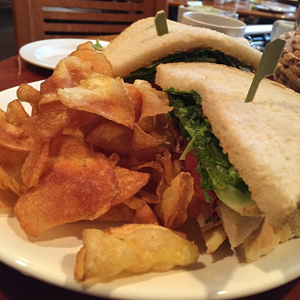 Piggy Chicken Club Sandwich - Chez Piggy, Kingston, ON