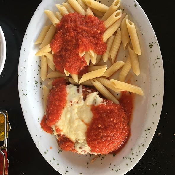 Veal Parmagiana - Cafe Italia - Arlington, Arlington, VA