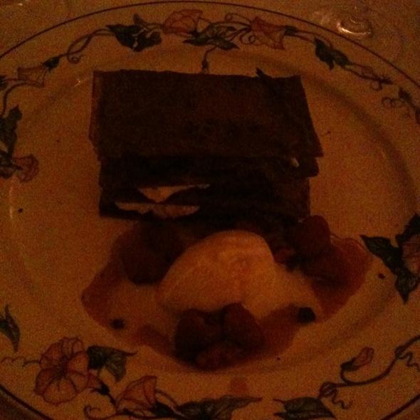 Chocolate Napoleon - Scalini Fedeli, New York, NY