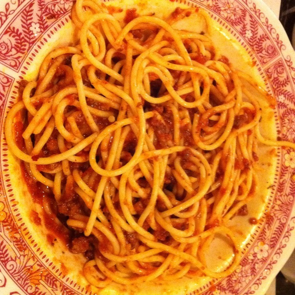 Spaghetti With Meat Sauce - The Old Spaghetti Factory - Toronto, Toronto, ON