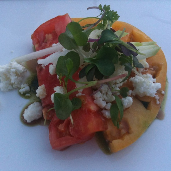 Heirloom Tomato Salad - Cayton's at The Ritz-Carlton Golf Club, Dove Mountain, Marana, AZ